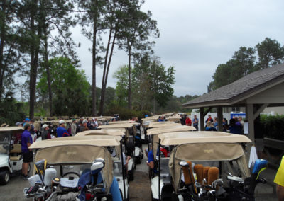 The Jacksonville Chapter hosts its annual charity golf tournament, March 23, 2017.