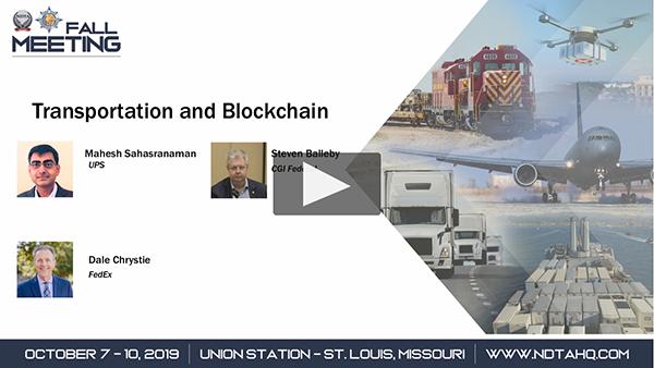 Transportation and Blockchain