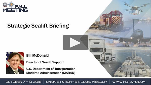 Strategic Sealift Briefing