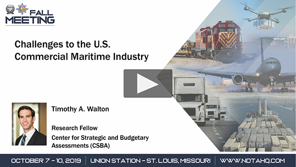 Challenges to the U.S. Commercial Maritime Industry