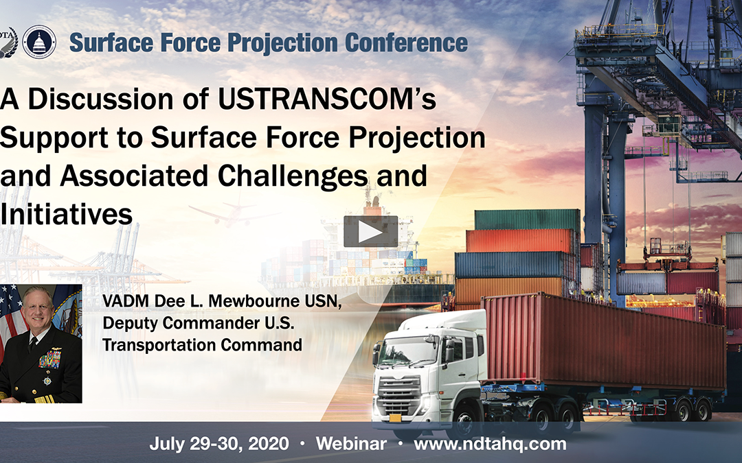 A Discussion of USTRANSCOM's Support to Surface Force Projection and Associated Challenges and Initiatives