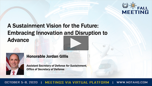 A Sustainment Vision for the Future: Embracing Innovation and Disruption to Advance