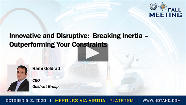 Innovative and Disruptive: Breaking Inertia – Outperforming Your Constraints