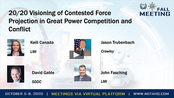 20/20 Visioning of Contested Force Projection in Great Power Competition and Conflict